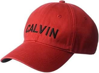 Calvin Klein Jeans Men's Embroidered Baseball Dad Hat