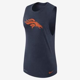 Nike Logo Muscle (NFL Broncos) Women's Tank
