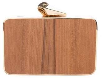 Kotur Wood Box Clutch