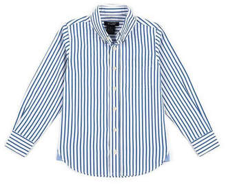 E-Land Kids Pinpoint Stripe Woven Shirt