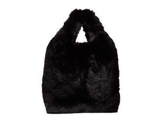 Hat Attack Faux Fur Mini Handheld Clutch
