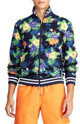 Polo Ralph Lauren Printed Cotton Track Jacket