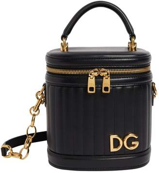 Dolce & Gabbana Leather Top Handle Bag