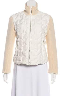 Post Card Down Quilted Jacket