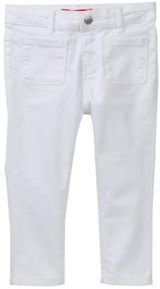 Joe Fresh White Skinny Pants (Toddler & Little Girls)