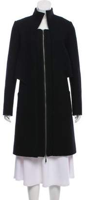 ICB Wool Lace-Accented Coat