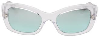 Prada White Postcard Sunglasses