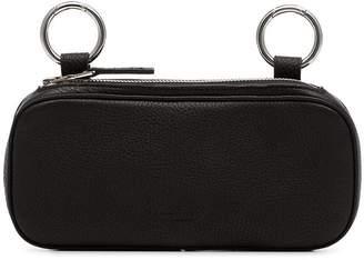 Simon Miller black long pop leather pouch