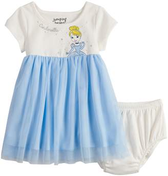 Disneyjumping Beans Disney's Cinderella Baby Girl Tulle Dress by Jumping Beans