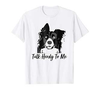 Breed Talk Herdy to me - Collie - Sheep Herding Dog Tee