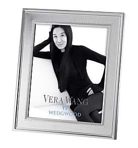 "Wedgwood Vera Wang Grosgrain Silver Frame 8""X10"""