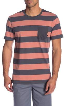 Tavik Broadcast Short Sleeve Striped Pocket Tee