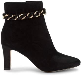 Karl Lagerfeld Paris Maggie Leather Booties