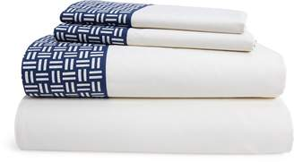 Ralph Lauren Nicola Basket-Weave Sheet Set