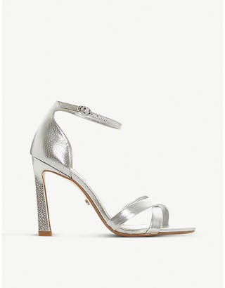 de6e308daabb7d Dune Madalay metallic leather sandals