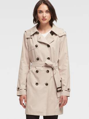 DKNY Belted Trench Coat