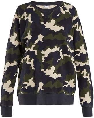 The Upside Sid French Camo-print cotton sweatshirt