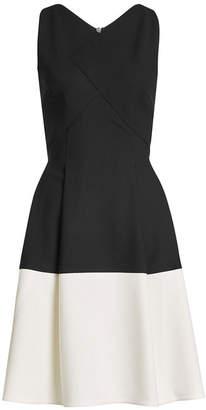 Roland Mouret Two-Tone Dress