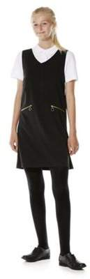 F&F School School Soft Touch V-Neck Pinafore 14-15 yrs
