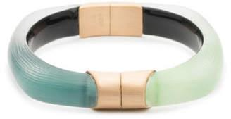Alexis Bittar Soft Square Colorblock Hinge Bracelet