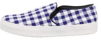 Celine Check Slip-On Sneakers