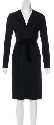 Altuzarra Long Sleeve Midi Dress