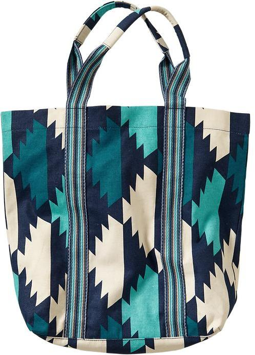 Women's Multi-Print Canvas Totes