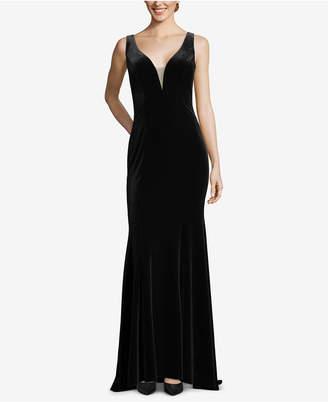 Xscape Evenings Sleeveless Velvet Gown