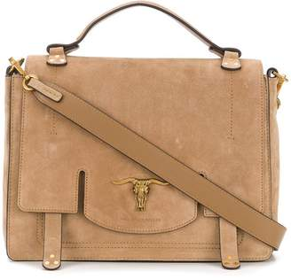Polo Ralph Lauren foldover top shoulder bag