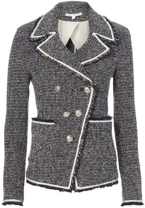 Veronica Beard Carroll Boucle Knit Jacket