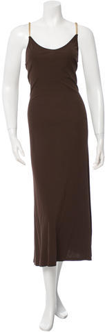 CelineCéline Rope-Trimmed Maxi Dress