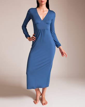 Grazia'Lliani Grazialliani Micromodal Long Gown