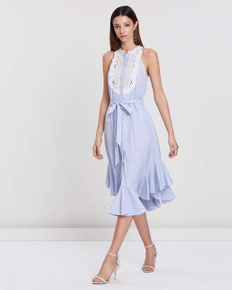 Lover Tangent Bib Dress