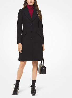 Michael Kors Wool-Melton Coat