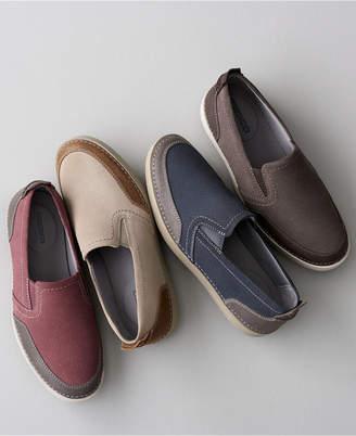 Clarks Men's Gossler Race Slip-On Sneakers, Created for Macy's Men's Shoes