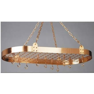 Old Dutch Oval Hanging Pot Rack