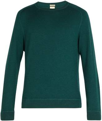 Massimo Alba Crew-neck cashmere knitted sweater