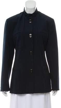 Lauren Ralph Lauren Long Sleeve Mock Neck Jacket