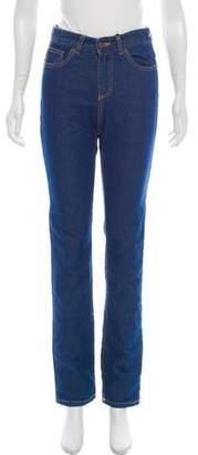 Fiorucci Mid-Rise Straight-Leg Jeans w/ Tags
