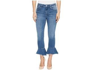 Mavi Jeans Tessa Jeans in Mid Brushed Cheeky Women's Jeans