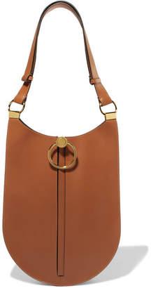 Marni Earring Leather Shoulder Bag - Tan