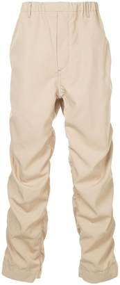 H Beauty&Youth ruched leg chinos