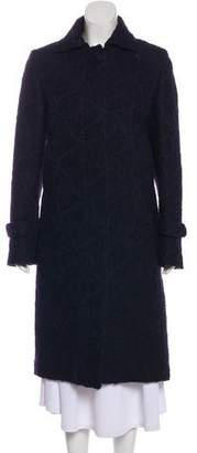 CNC Costume National Wool Collared Coat