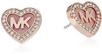 Michael Kors Symbols -Tone Stud Earrings
