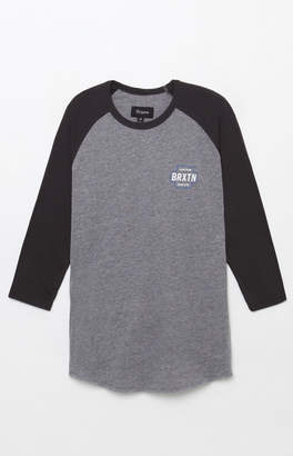 Brixton Garth Raglan 3/4 Sleeve T-Shirt