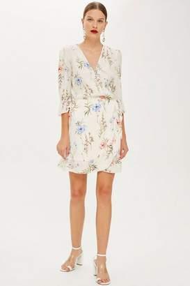 Oh My Love **Wrap Over Mini Dress