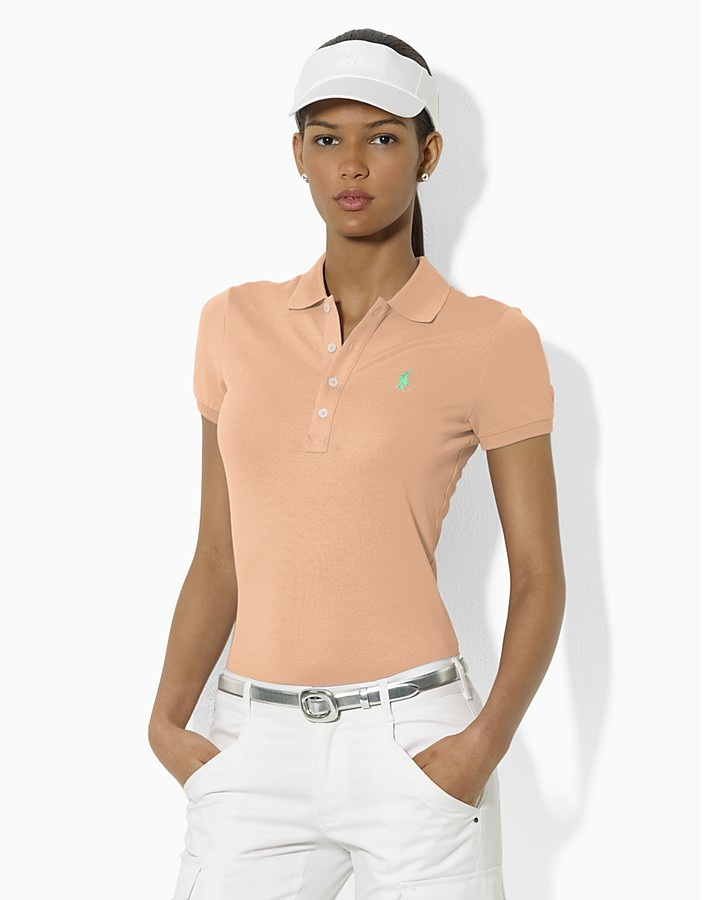 Ralph Lauren Tennis Slim Fit Stretch Mesh Club Polo Shirt