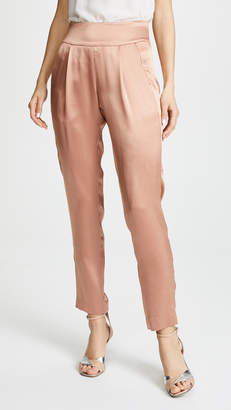 Michelle Mason Pleated Trousers