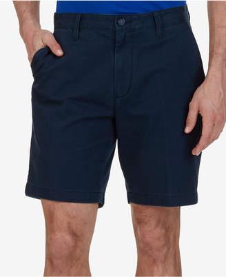 """Nautica Men Big & Tall 10"""" Flat Front Deck Shorts"""
