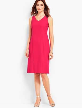 Talbots Luxe Italian Double-Cloth Dress